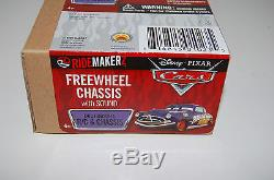 12 Disney Pixar Cars RIDEMAKERZ Freewheel Chassis with Sound NEW RC Full Case 12
