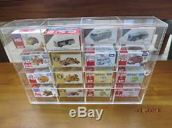Acrylic display Case for tomica toys kids disney Shelf for 16 pieces Model cars