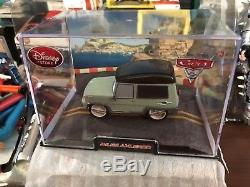 CARS PIXAR 143 DIECAST DISNEY STORE WithDISPLAY CASE LOT (8) FREE SHIPPNG