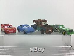 Cars 1 Race Case and Track Toys Die Cast Boost Luigi Guido Mater 16pc Lot Disney