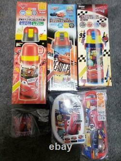 Cars Lunch Set Disney Stainless Steel Bottle Cup Trio Case No. 8662