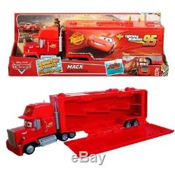 DISNEY Cars New Mack Carry Case Transporter Large Red Boxed Lorry