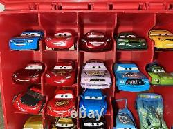 DISNEY PIXAR MODEL MOVIE CARS COLLECTION 52 Cars Some Rares With Case