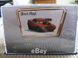 DISNEY Store Cars Snot Rod die cast in collectors case first release