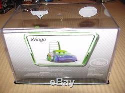 DISNEY Store Cars Wingo die cast in collectors case first release