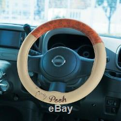 DISNEY Winnie the Pooh Car Steering Wheel Cover Case Drive from Japan E6767