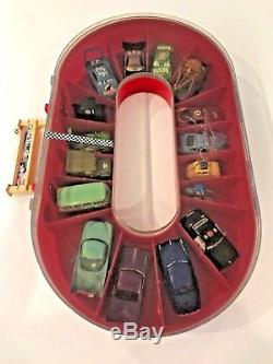 Die-Cast Cars with Carrying Case-From the Disney Movie The Cars