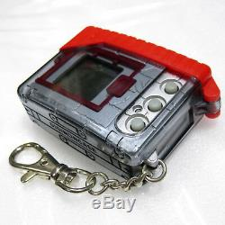 Digimon Digital Monster Ver 4 D-1 Silver Red Grand Prix Special with Case Cover