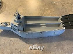 Disney Cars 2 Talking Tony Trihull Battleship Storage Case-EXCELLENT CONDITION