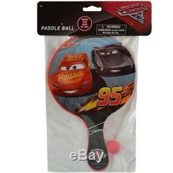 Disney Cars 3 Deluxe Paddle Ball CASE OF 144