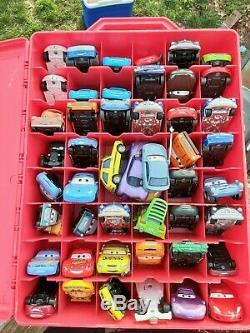 Disney Cars Case With Disney Cars used 49 Cars with case