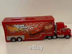 Disney Cars Diecast & Semi with Case Lot of 31 with World Grand Prix Carnival + more