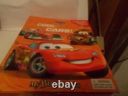 Disney Cars Movie Carrying Case with 23 Cars & 12 Cars in Box with Road Map