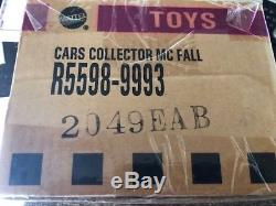Disney Cars unopened case from Kmart Collectors Day #3 rubber tires