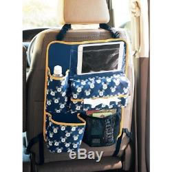 Disney Mickey Baby Car Storage Seat Back Pocket Case Bag Pouch from Japan E5440