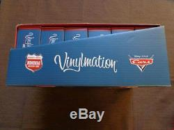 Disney PIXAR CARS Monorail Vinylmation 3' Figure Case Set of 24 New