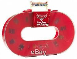 Disney Pixar CARS Race Case and Track. Shipping is Free