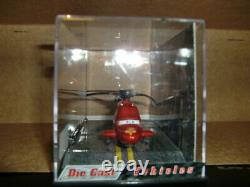 Disney Pixar Cars 143 Team McQueen Helicopter Exclusiv Chase Ed. Collector Case