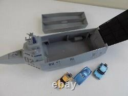 Disney Pixar Cars 1/43 Tony Trihull Battleship Carry Case Complete with Vehicles