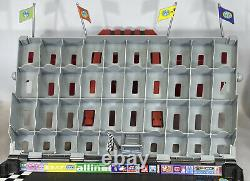 Disney Pixar Cars 2 Fan Stands Play N Display Carrying Case Track Holds 40 Cars