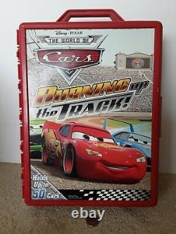 Disney Pixar Cars 50 Cars McQueen Red Carrying Storage Case