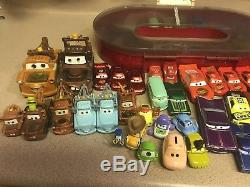 Disney Pixar Cars Collection Lots With Case And 50+ Collectibles