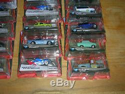 Disney Pixar Cars KMART 24 CARS Mixed Lot Silver Racers and Chase Cars Open Case