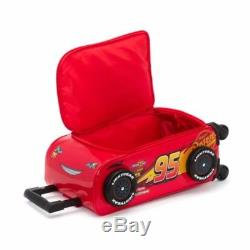 Disney Pixar Cars Lightning McQueen TROLLEY CASE ROLLING LUGGAGE