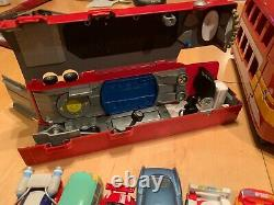 Disney Pixar Cars Lot Assortment of 130 cars, big to small with Storage cases