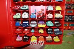 Disney Pixar Cars Lot of 46 Loose Mattel 155 Diecast with Carrying Case