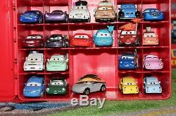 Disney Pixar Cars Mattel Diecast 155 Lot of 40 Vehicles with Carrying Case