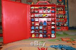 Disney Pixar Cars Mattel Diecast 155 Lot of 46 Tokyo Mater with Carrying Case