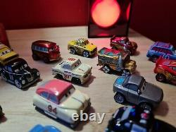 Disney Pixar Cars Mini Racers Collection And Case 22x Vehicles All Mint