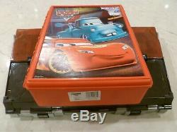 Disney Pixar Cars Movie Carry Cases Fan Stands Holds 40 Toon Holds +50 Free Ship