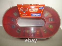 Disney Pixar Cars Race Case And Track For 16 Cars (F4)