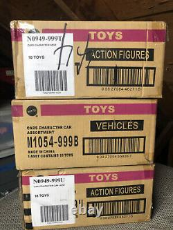 Disney Pixar Cars Sealed Cases Lot At Least 10 Years Old. M1054-999B