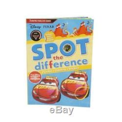 Disney Pixar Cars Spot the Difference Book CASE OF 96