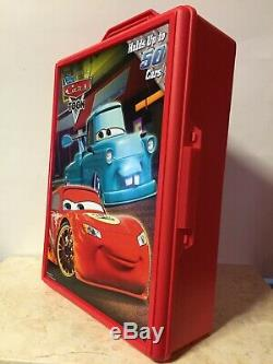 Disney Pixar Cars TOON Carry Case Holds up to 50 Cars! BRAND NEW