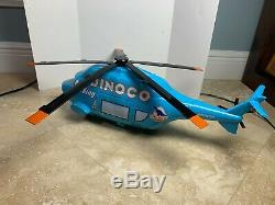 Disney Pixar Cars Turbosky Giant-Sized Dinoco Helicopter Carrying Case