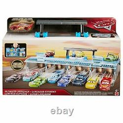 Disney Pixar Cars Ultimate Launcher, Carry Case with Lightning McQueen Toy