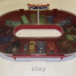 Disney Pixar Cars in Race Track Storage Case, All Cars Included In Lot 2006