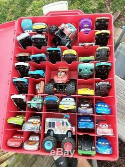 Disney Pixar Cars with Carring Case used 39 Cars