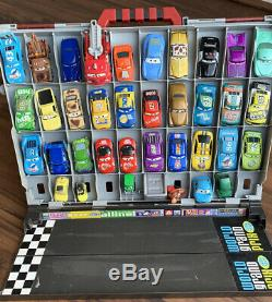 Disney Pixar Diecast Cars 1 Collection With Rare Carrying Case- 35 Rare Cars