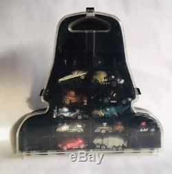 Disney Racers Star Wars Diecast Character Cars (11) & Darth Vader Carry Case