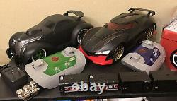 Disney Ridemakerz Mixed Lot 2 Cars Rtr With Case & Extras #503108 #100410 Nr Nr