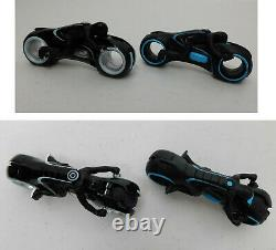 Disney Spin Master TRON LEGACY DIECAST CARS +CASE SET Kevin Sam Clu Light Cycle+