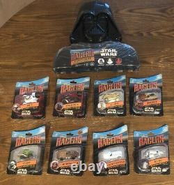 Disney Star Wars Racers Darth Vader Carrying Case And 12 Cars