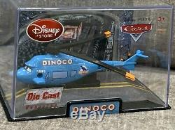 Disney Store Cars 1 Die Cast Collector Case Dinoco Helicopter Chopper 143 Scale
