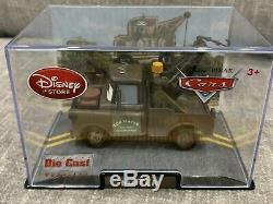 Disney Store Cars 1 Die Cast Collector Case Mater 143 Scale NEW