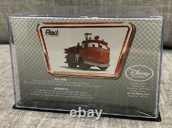 Disney Store Cars 1 Die Cast Collector Case Red Fire Truck 143 Scale NEW